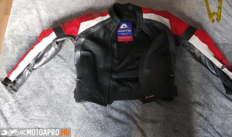 Berik limitált M es nyári motoros dzseki.