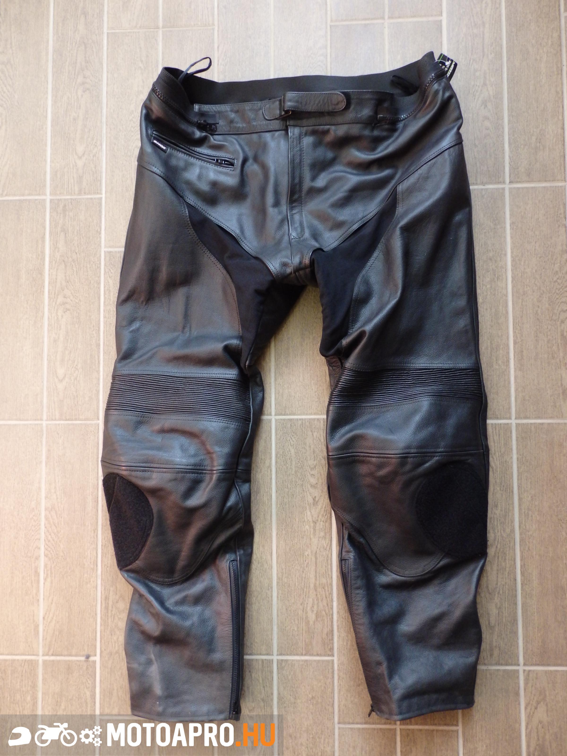 Motoros bőr nadrág Shox